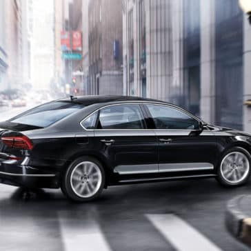 2018 Volkswagen Passat Black
