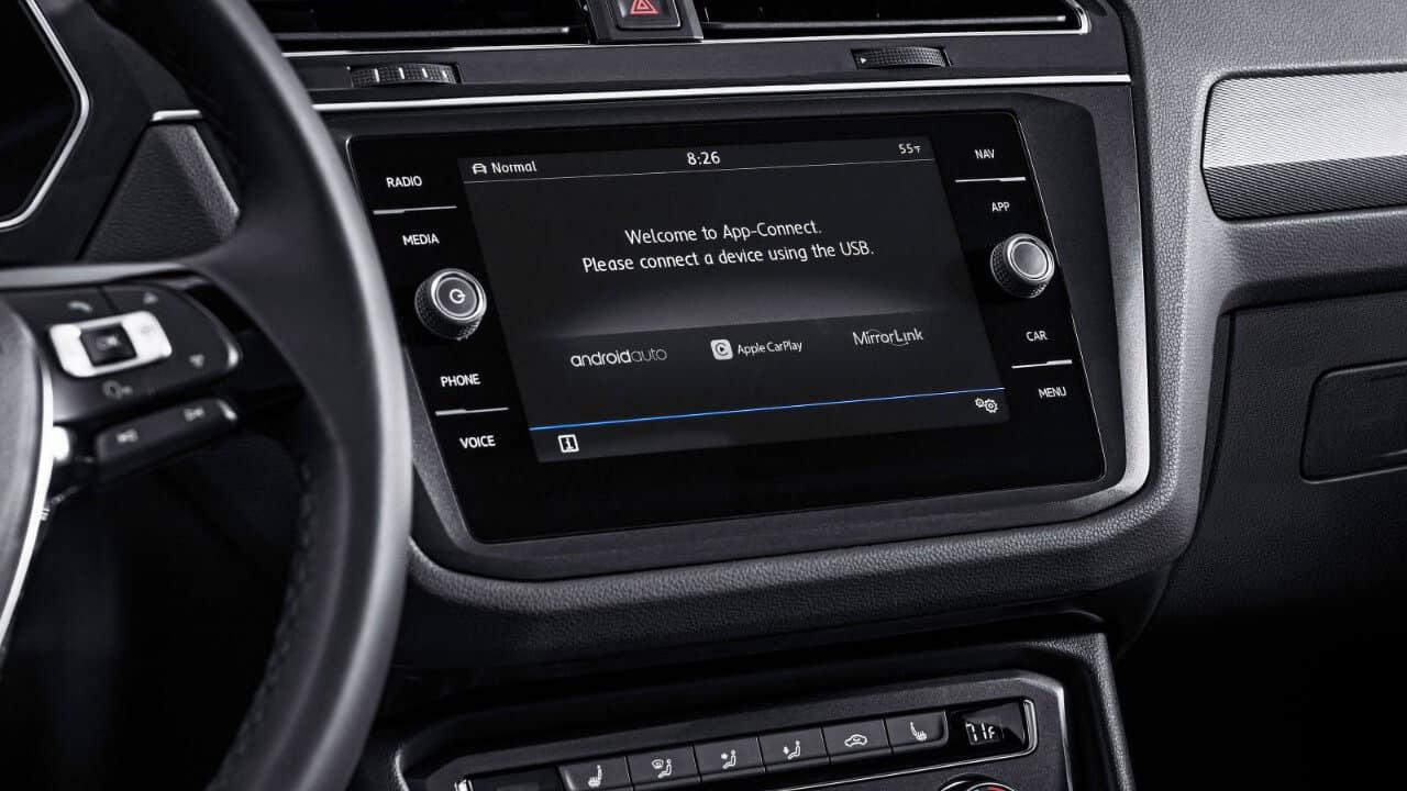 2018 Volkswagen Tiguan Touchscreen