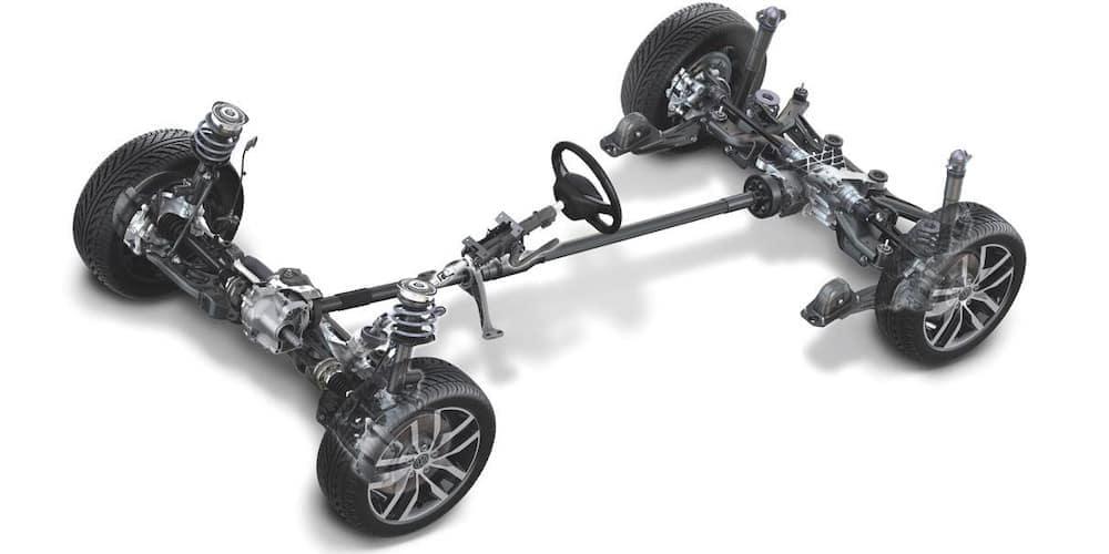 VW 4MOTION AWD Drivetrain
