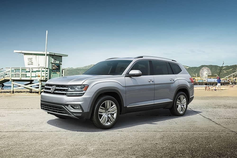 2019 VW Atlas Parked