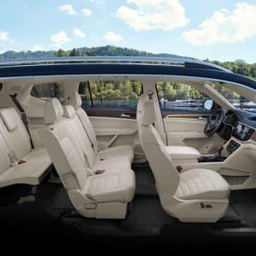 2019 VW Atlas Seating