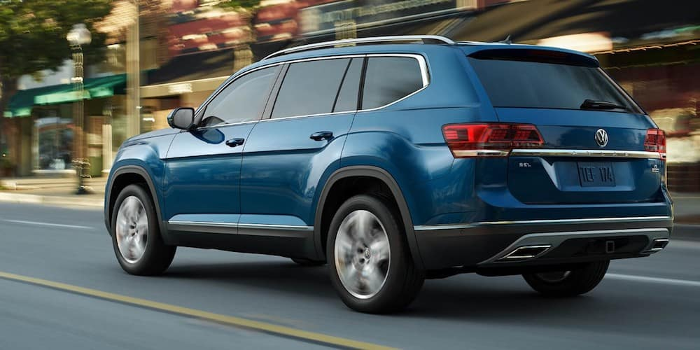 2019 Volkswagen Atlas on City Street