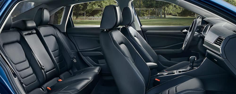 2019 Volkswagen Jetta wide interior view