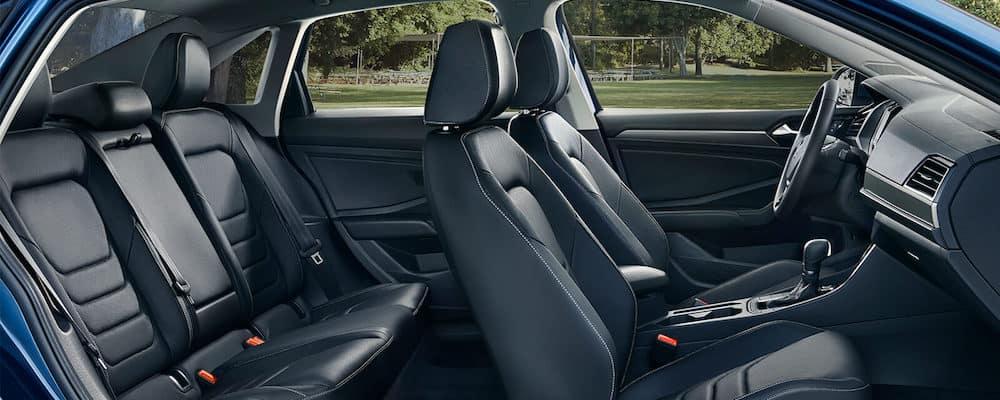 2019 Volkswagen Jetta wide interior view