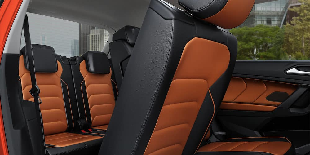 2019 Volkswagen Tiguan Rear Interior