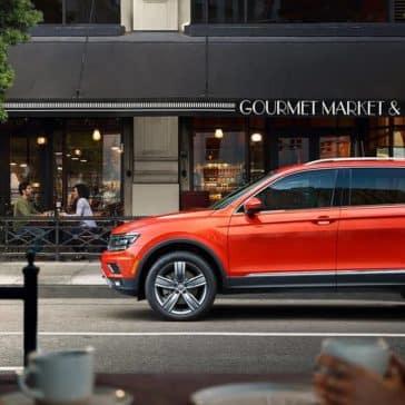 2019 Volkswagen Tiguan In The city