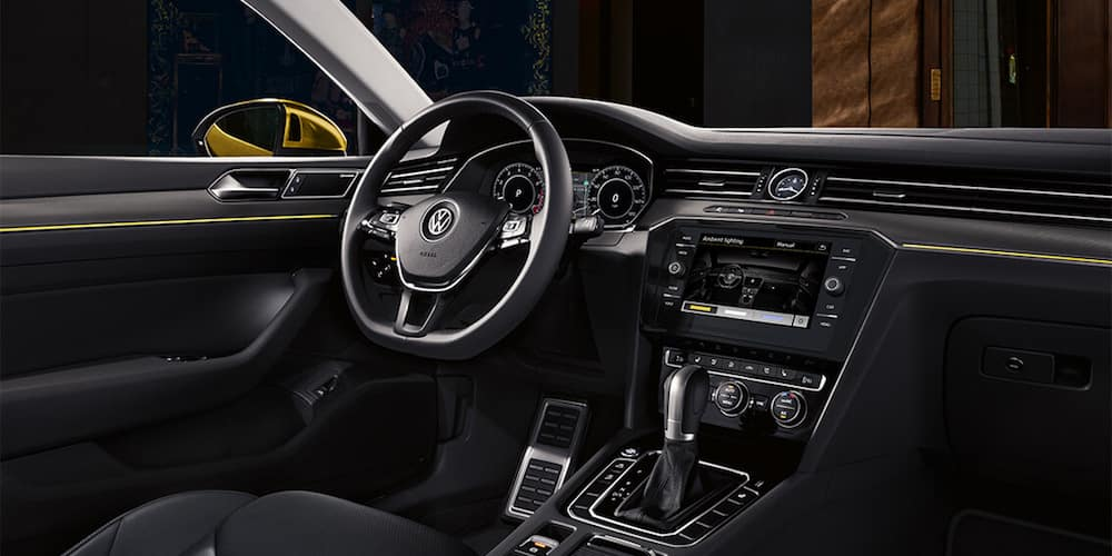 2019 Volkswagen Arteon Front Interior and Dash