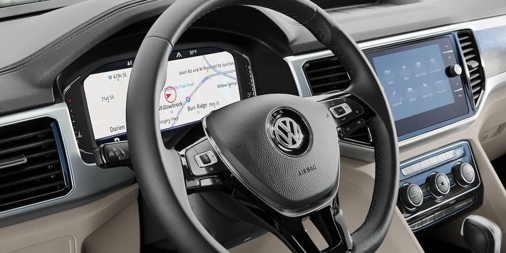 2019 Volkswagen Atlas Front Interior and Dashboard