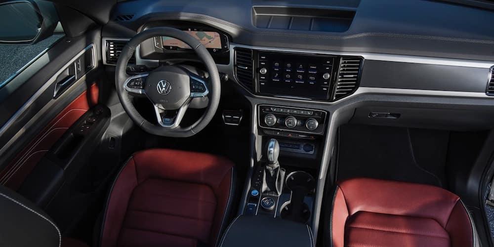 2020 Volkswagen Atlas Cross Sport Front Interior