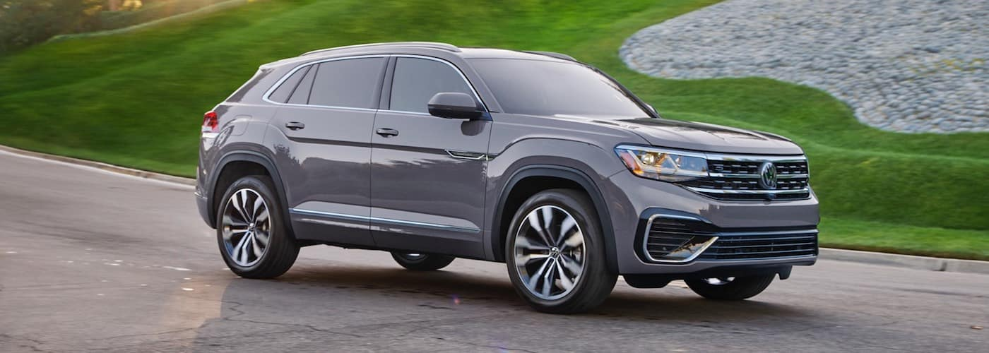 Gray 2020 Volkswagen Atlas Cross Sport on Street