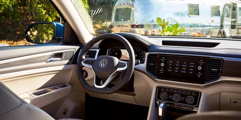 2021 VW Atlas Front Interior