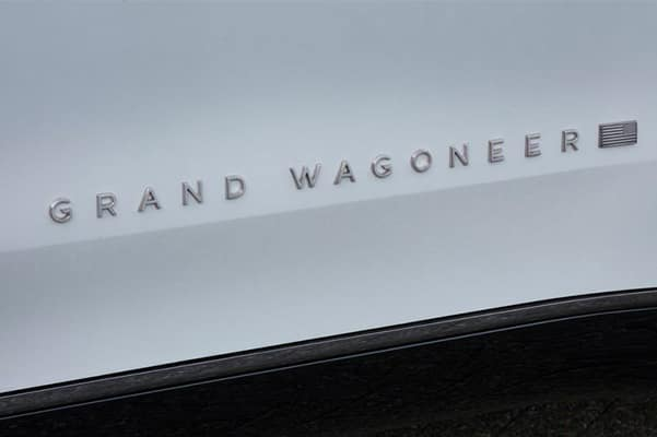 Grand Wagoneer Badge