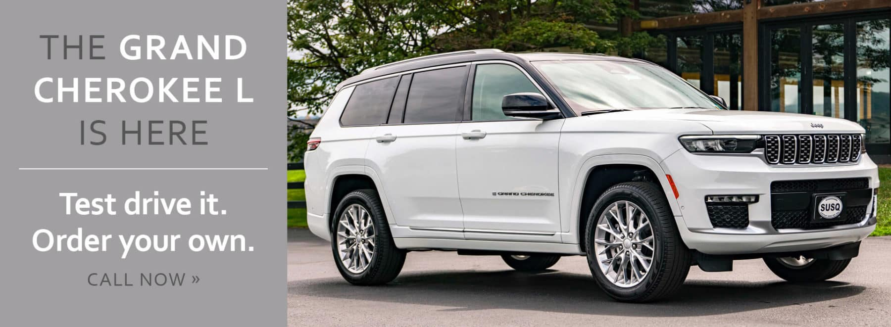 The Grand Cherokee L is here! Test drive one today!