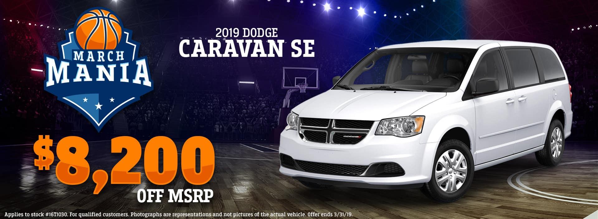 3.19 - 2019 Dodge Caravan SE