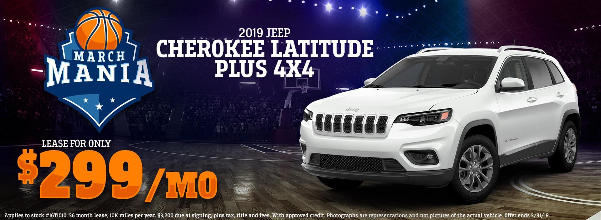 3.19 - 2019 Jeep Cherokee Latitude Plus 4x4