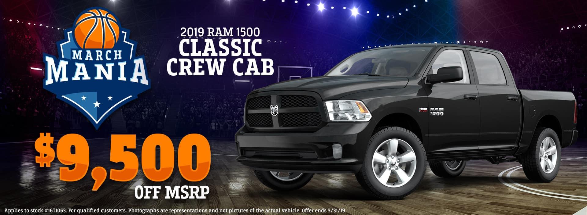 3.19 - 2019 RAM 1500 Classic Crew Cab