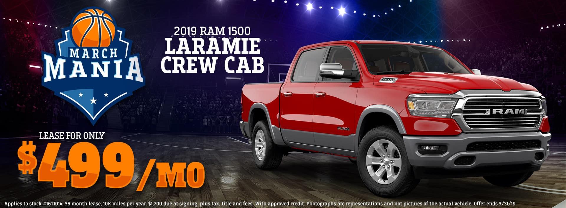 3.19 - 2019 RAM 1500 Laramie Crew Cab