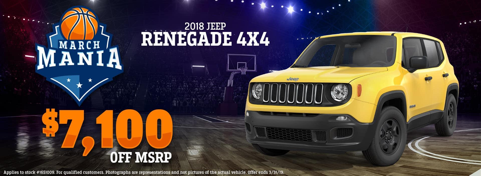 3.19 - 2018 Jeep Renegade 4x4