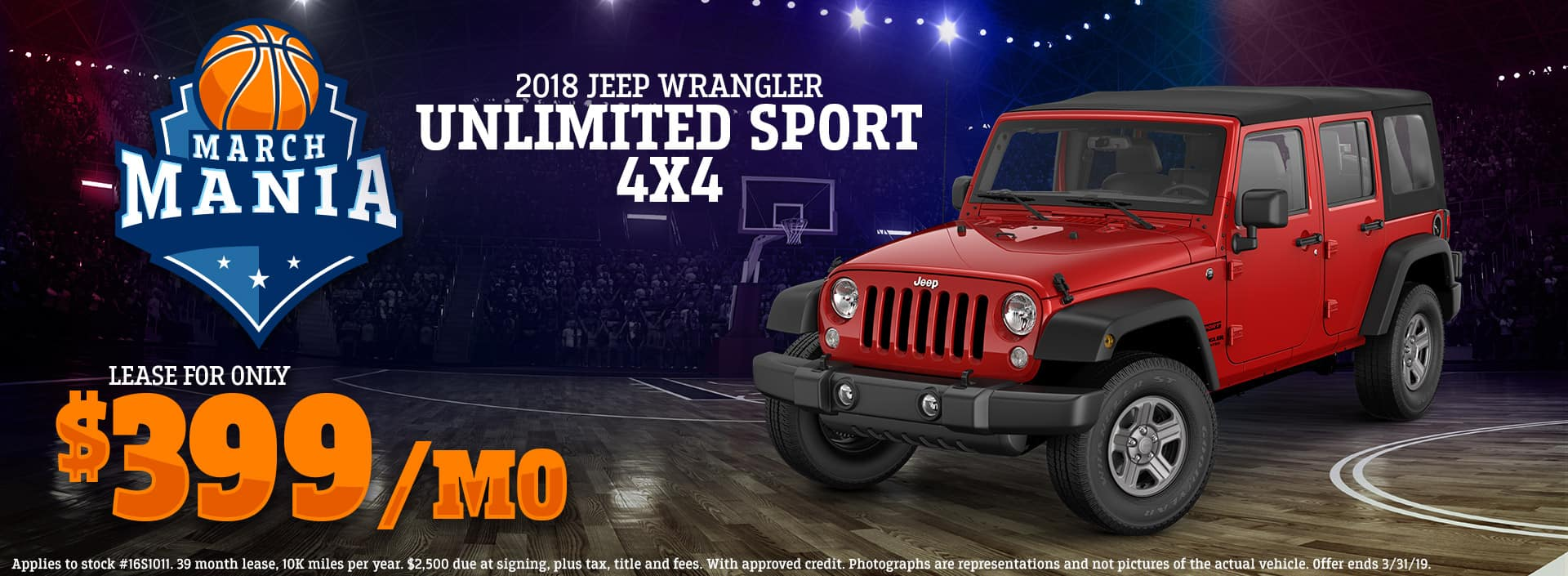 3.19 - 2018 Jeep Wrangler Unlimited Sport 4x4