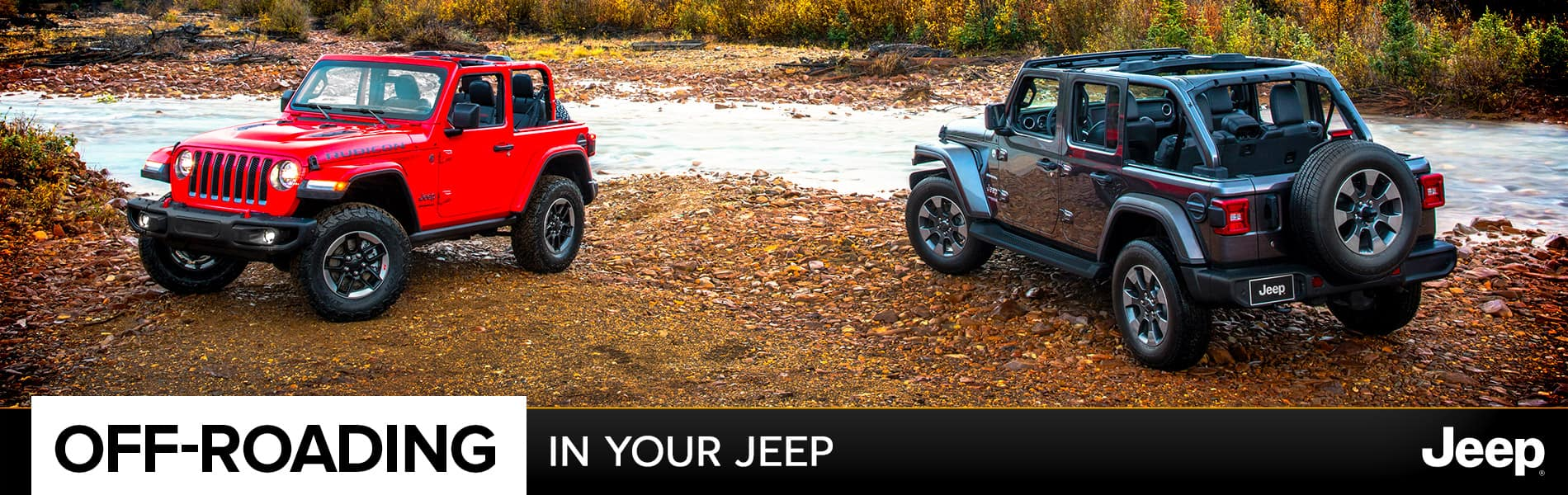 Driving Off-Road In Your Jeep® Vehicle | Decatur, IN