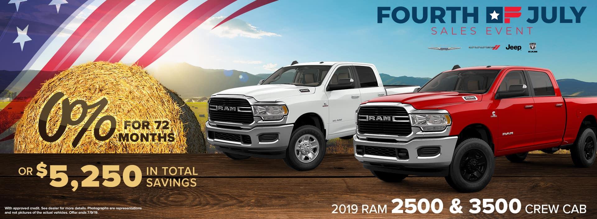 2019 RAM 2500 & 3500 Crew Cab | Decatur, IN