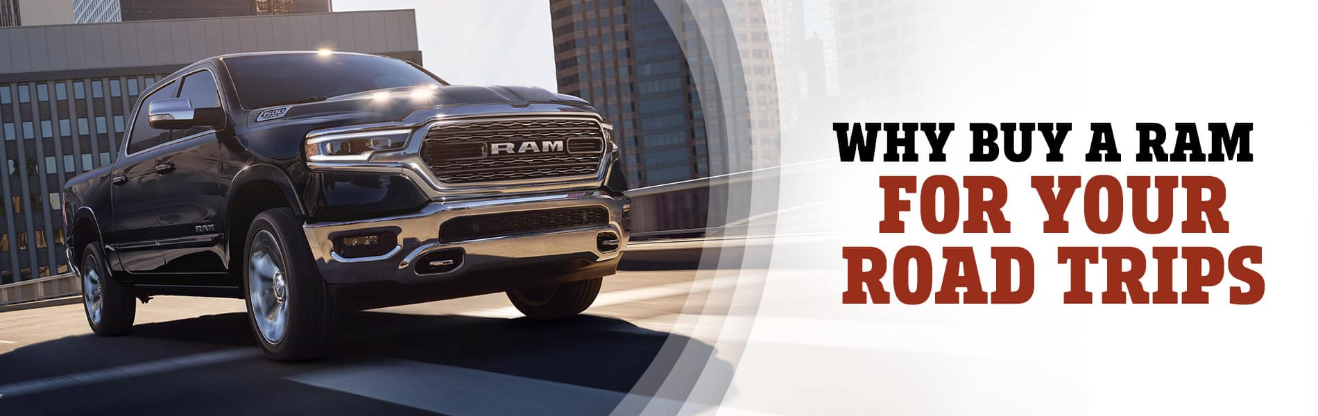 Why the Ram 1500 Makes for a Great Road Trip Vehicle | Decatur, IN