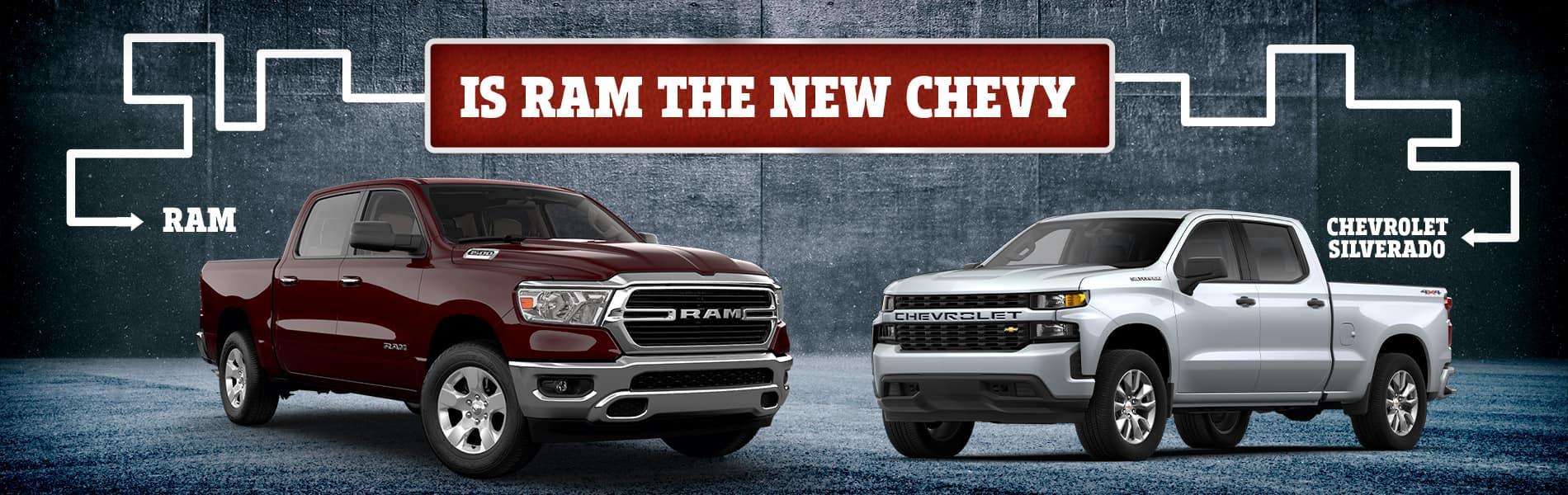 2019 RAM 1500 vs. Silverado 1500   Decatur, IN
