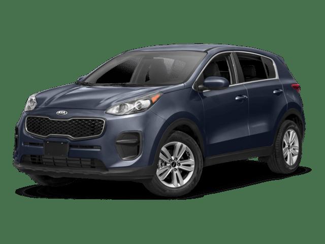 2018 Kia Sportage Angled