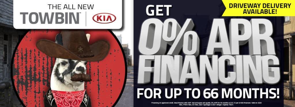 0% APR Financing on New Kias in Las Vegas Towbin Kia