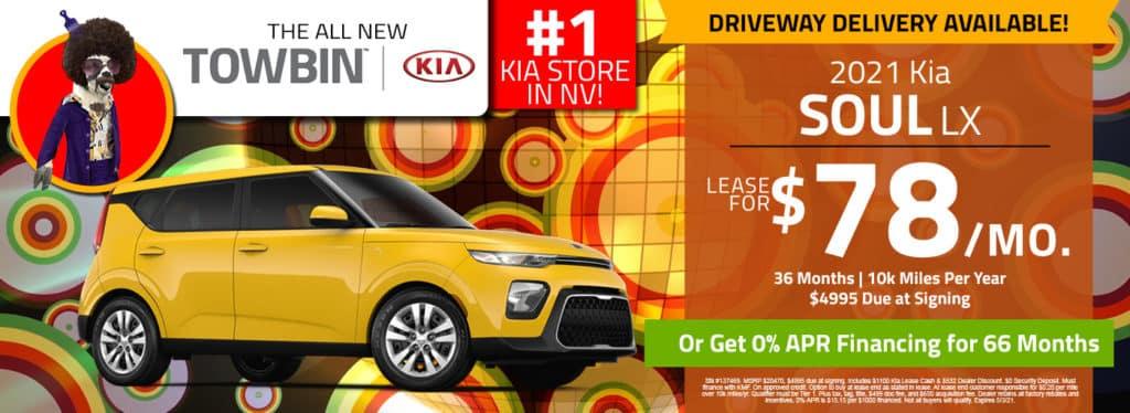 Kia Soul for sale, Kia Dealership in Las Vegas, Towbin Kia
