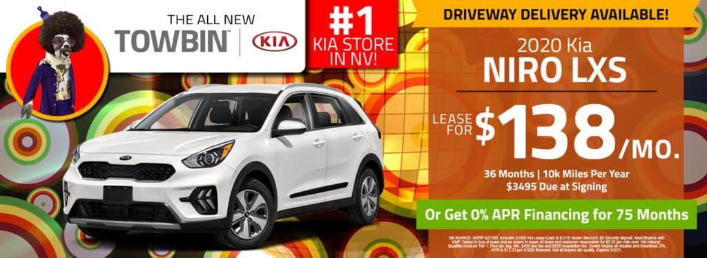 Kia Niro for sale, Towbin Kia las vegas kia dealership