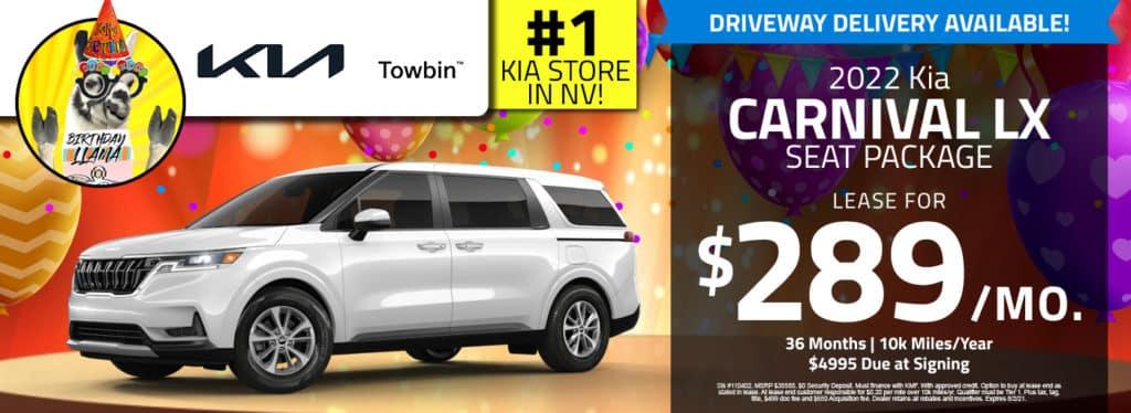 Kia Carnival for sale