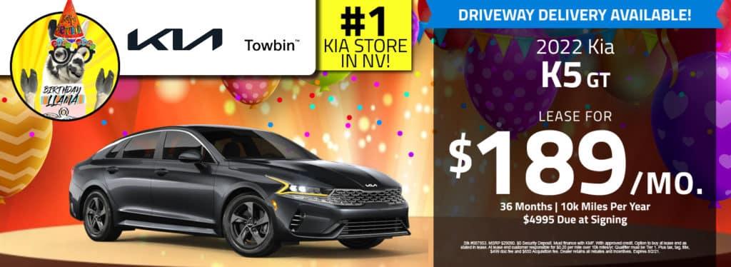 Kia K5 for sale