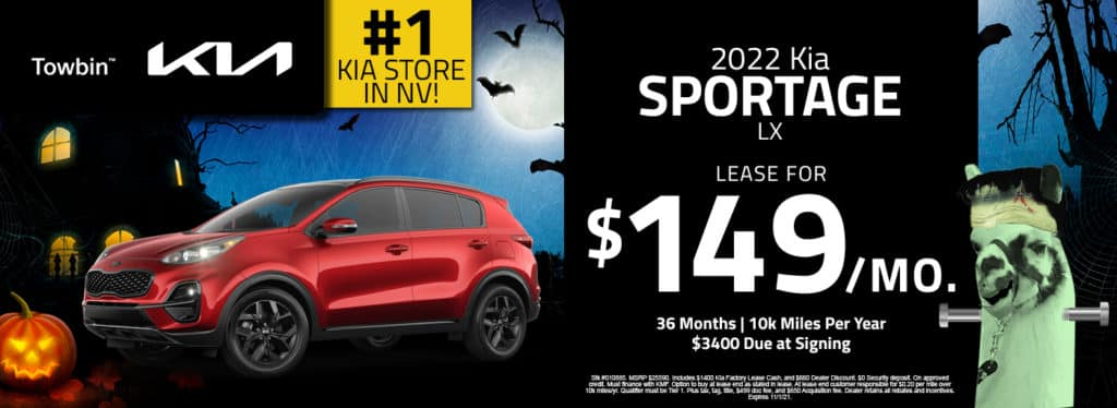 Towbin Kia Sportage Lease and Finance Special