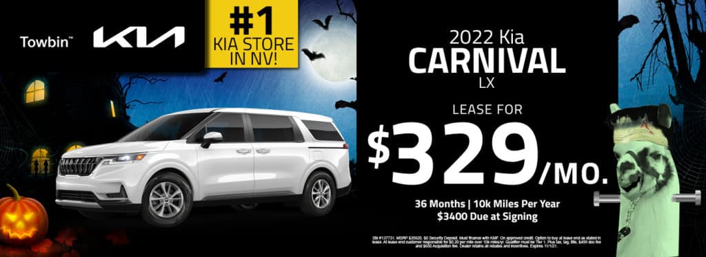 Kia Carnival Lease, Finance and Specials for Las Vegas.