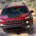 2018 Jeep Cherokee Driving Through Water