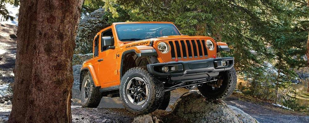 2019 Jeep Wrangler on Rock