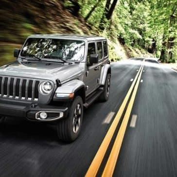 2019 Jeep Wrangler Driving