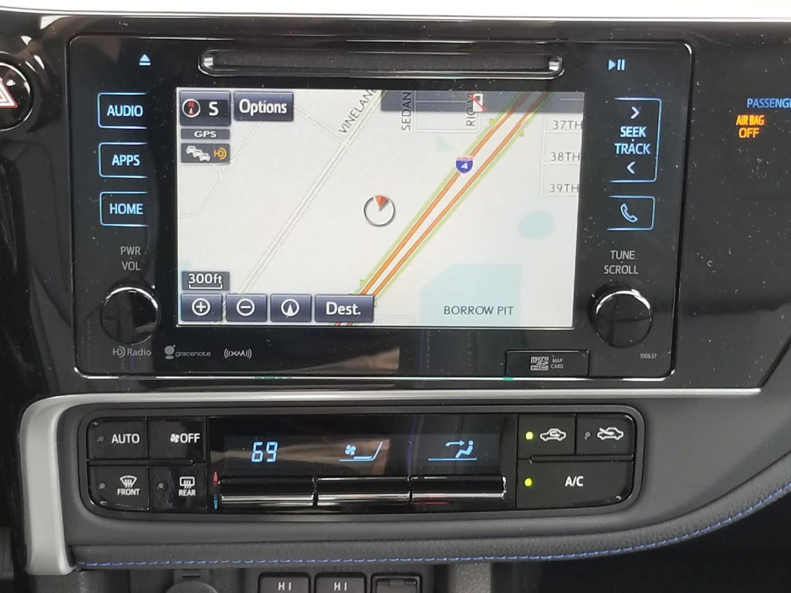 New Entune infotainment in the N Charlotte Toyota Corolla