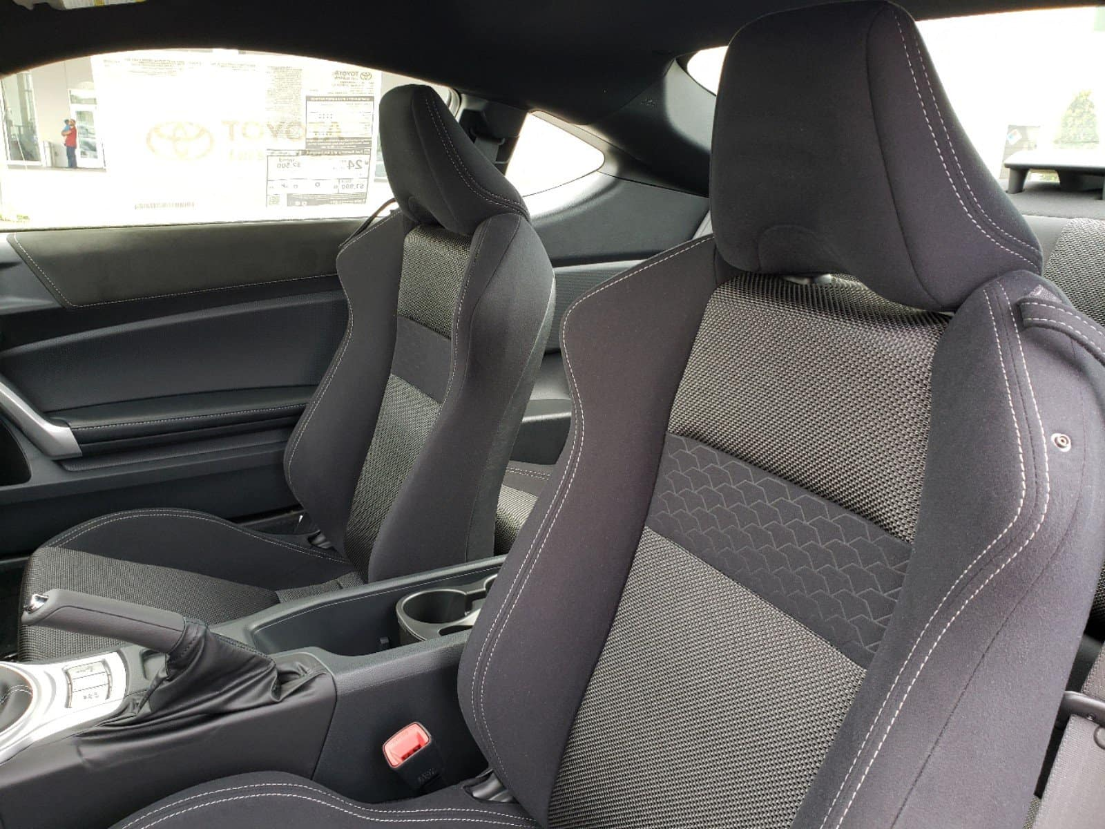 Check out the interior of the new N Charlotte Toyota 86.
