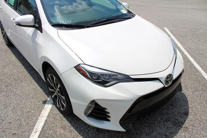 Test drive the 2019 Toyota Corolla at Toyota of N Charlotte.