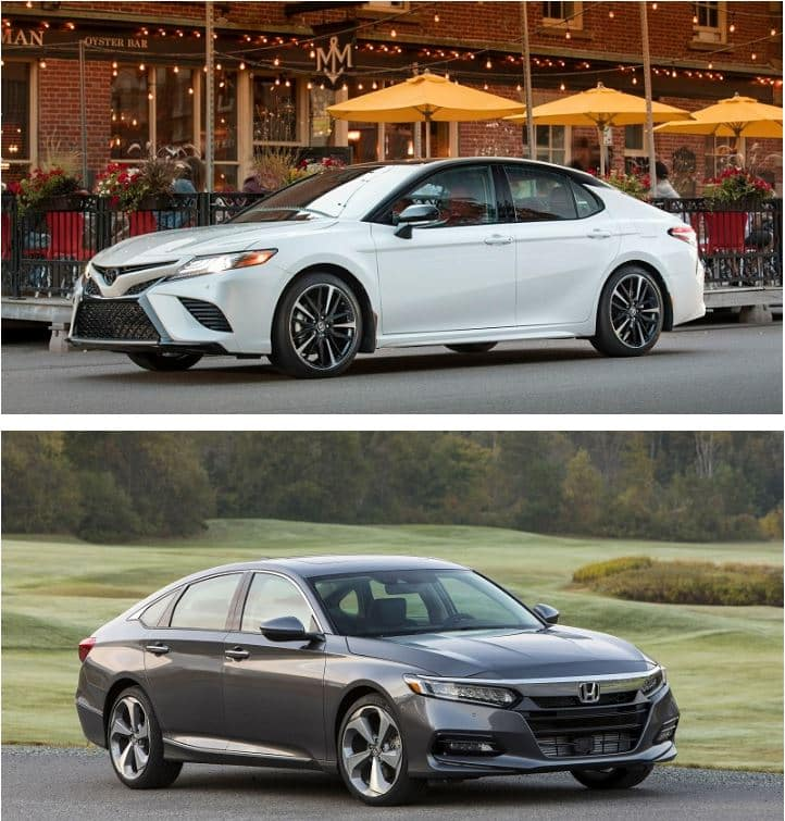 Accord Vs Camry >> 2019 Toyota Camry Vs 2019 Honda Accord Toyota Of North