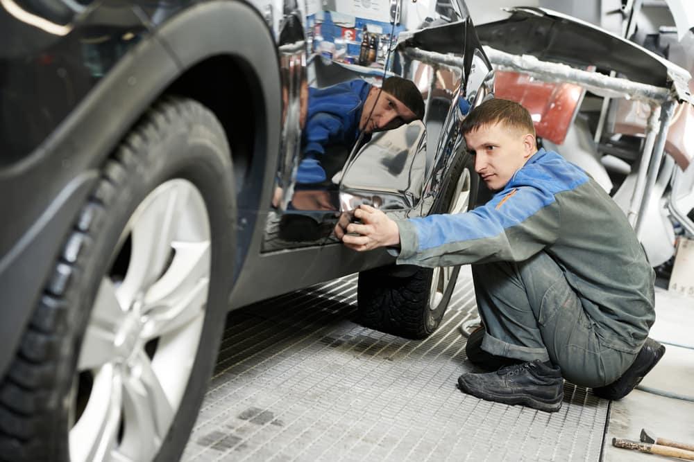 Auto body repair work in N Charlotte.