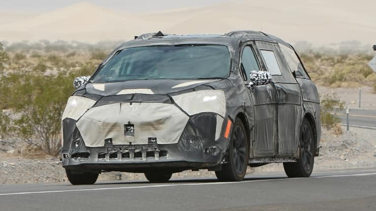 Toyota of N Charlotte has spotted a camouflaged 2021 new Toyota