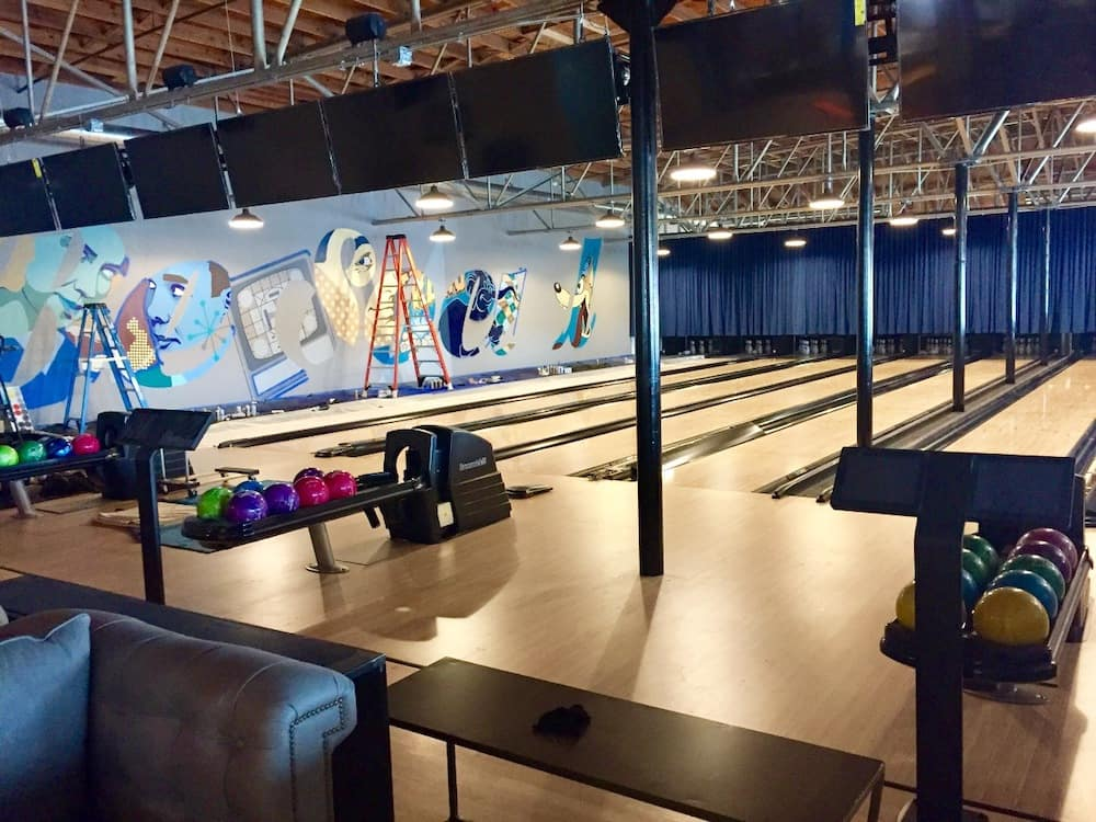 Charlotte bowling alley