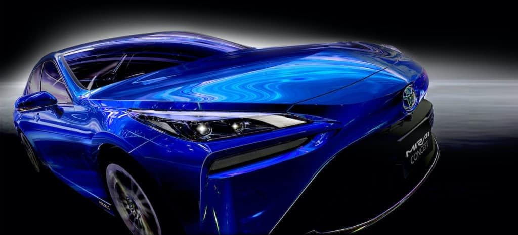 Toyota of N Charlotte has details on the new Toyota Mirai.