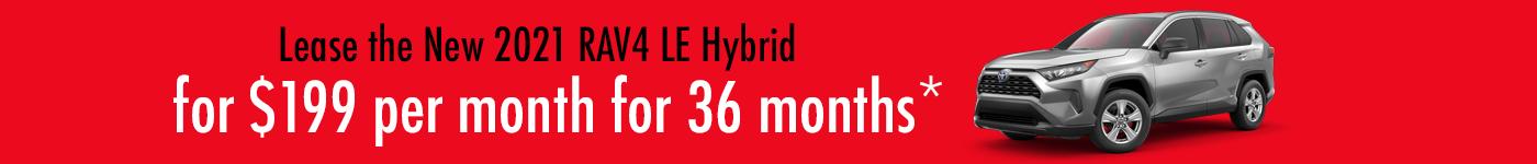 Hybrid Toyota specials
