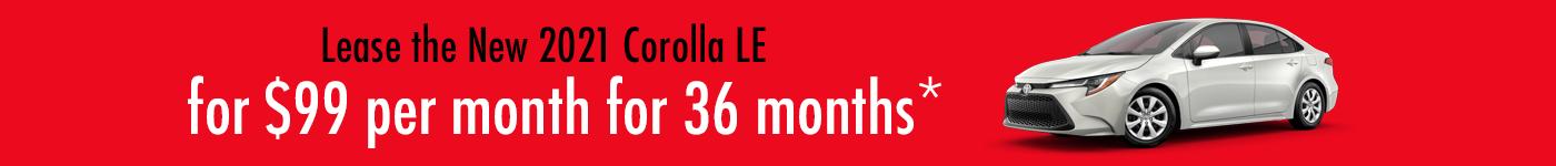 Toyota Corolla deals
