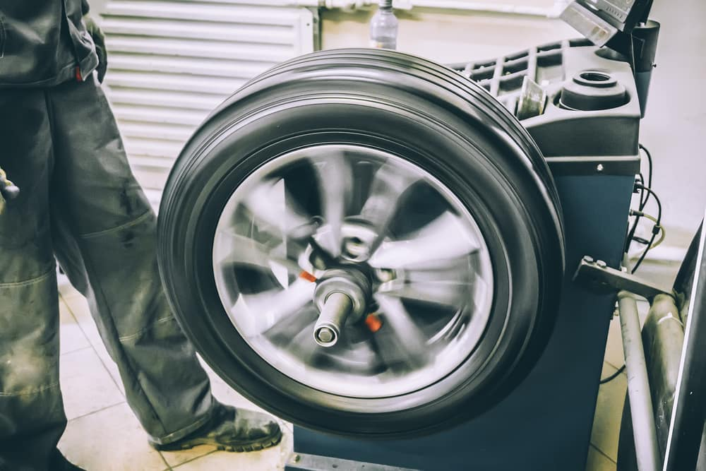 Car tire care at Toyota of North Charlotte
