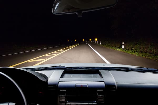 Toyota of N Charlotte tips on driving at night.